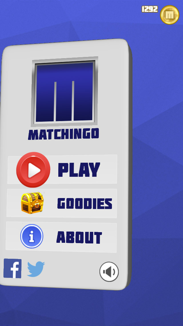 Matchingo gameplay screen 1